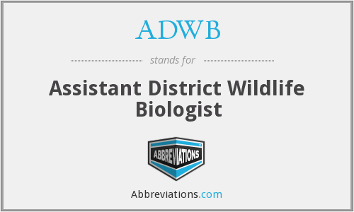 What does ADWB stand for?