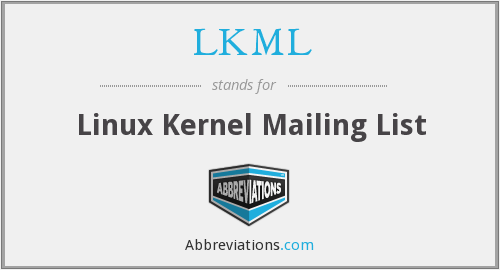 What does LKML stand for?