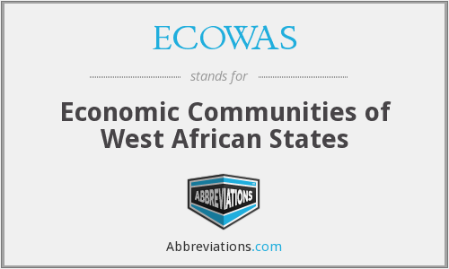 What does ECOWAS stand for?
