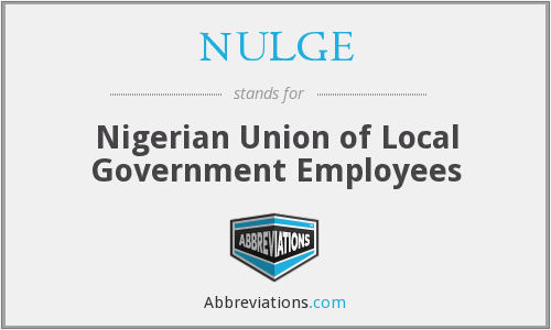 What does NULGE stand for?