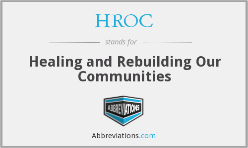 What does HROC stand for?