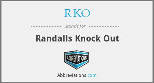RKO - Randalls Knock Out