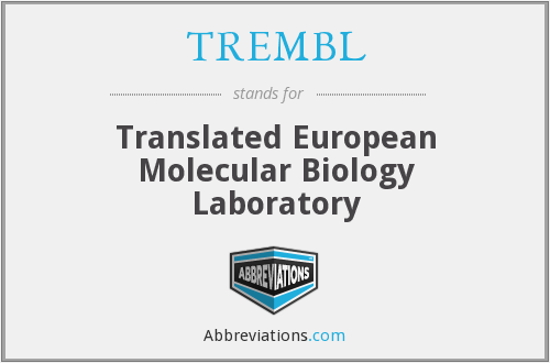 What does TREMBL stand for?