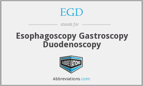 What does gastroscopy stand for?
