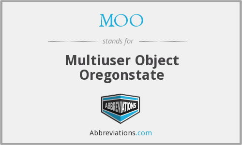 MOO - Multiuser Object Oregonstate