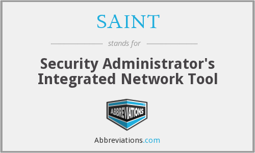 SAINT - Security Administrator's Integrated Network Tool