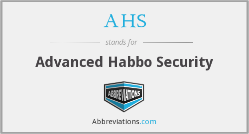 AHS - Advanced Habbo Security