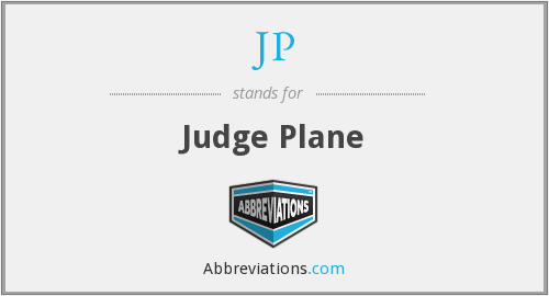 JP - Judge Plane