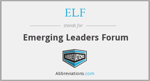 ELF - Emerging Leaders Forum