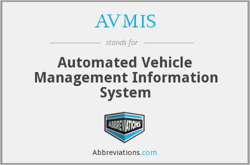 What does AVMIS stand for?