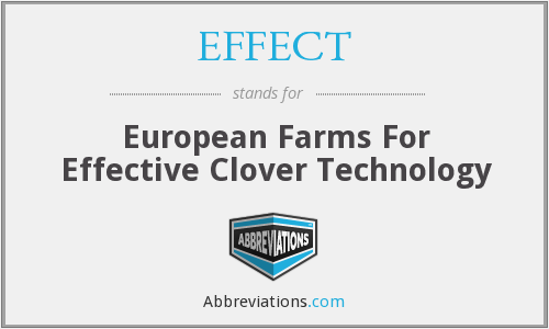 EFFECT - European Farms For Effective Clover Technology