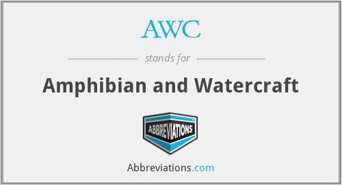 AWC - Amphibian and Watercraft