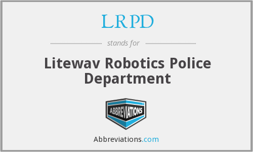 What does LRPD stand for?
