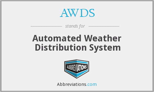 AWDS - Automated Weather Distribution System