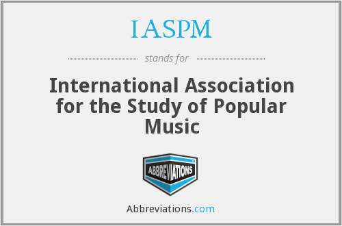 What does IASPM stand for?