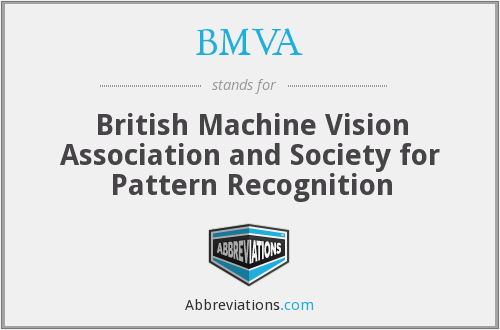 What does BMVA stand for?