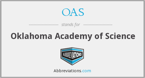 OAS - Oklahoma Academy of Science