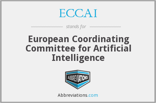 What does ECCAI stand for?