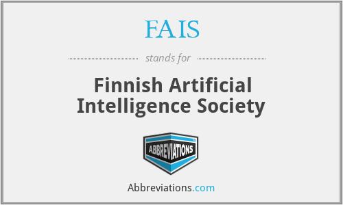 FAIS - Finnish Artificial Intelligence Society