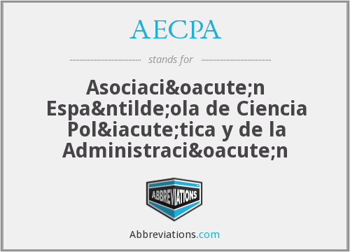 What does AECPA stand for?