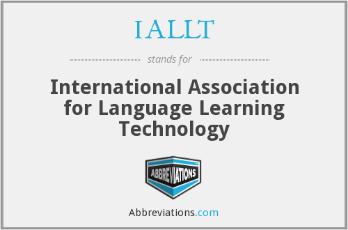 What does IALLT stand for?