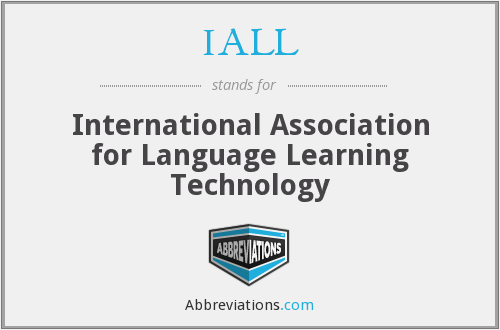 IALL - International Association for Language Learning Technology