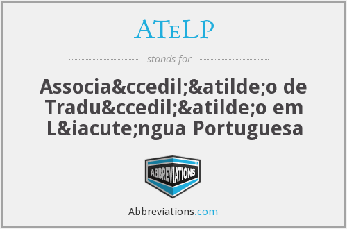 What does ATELP stand for?