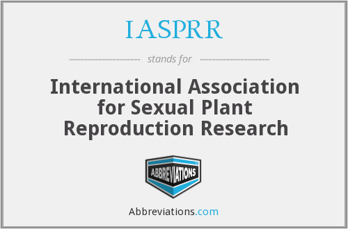 IASPRR - International Association for Sexual Plant Reproduction Research
