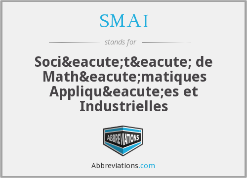 What does SMAI stand for?