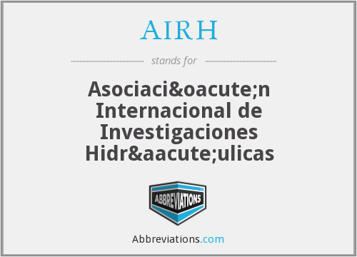 What does AIRH stand for?