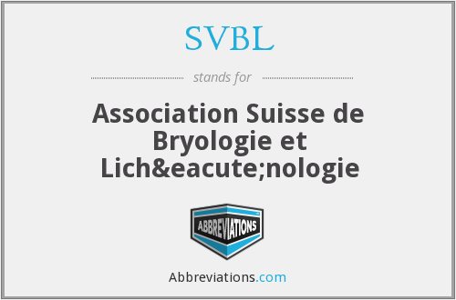 What does SVBL stand for?