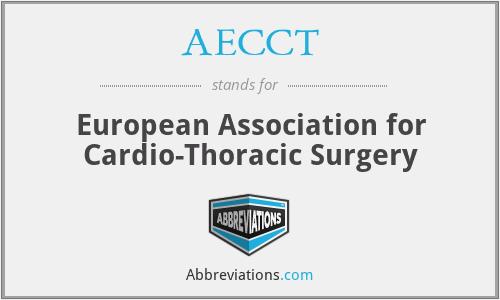 AECCT - European Association for Cardio-Thoracic Surgery