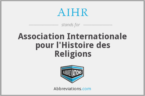 What does AIHR stand for?