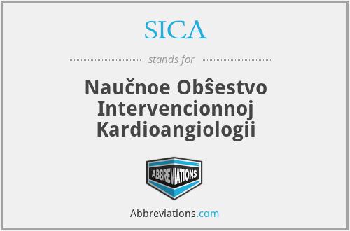 SICA - Naučnoe Obŝestvo Intervencionnoj Kardioangiologii