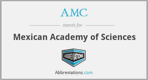 AMC - Mexican Academy of Sciences