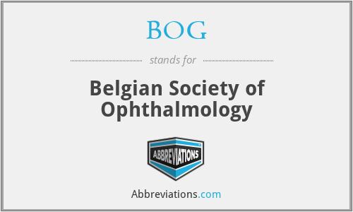 BOG - Belgian Society of Ophthalmology