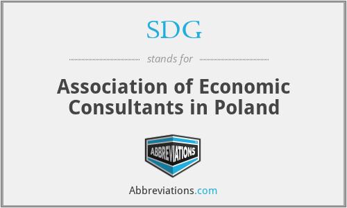 SDG - Association of Economic Consultants in Poland