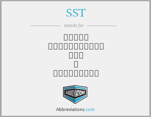 SST - สมาฅม วิทยาศาสตร์ แห่ ง ประเทศไทย