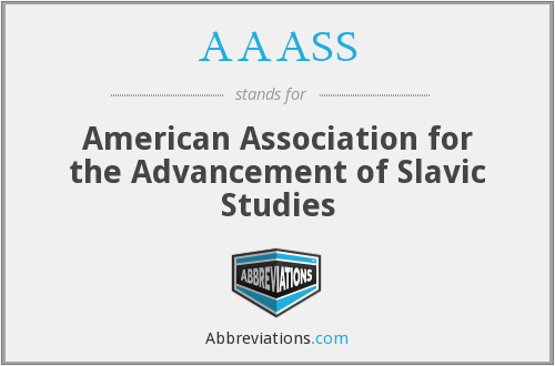 What does AAASS stand for?