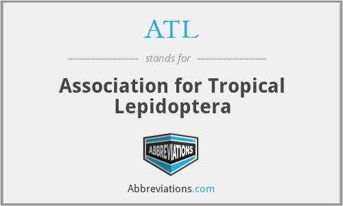 ATL - Association for Tropical Lepidoptera