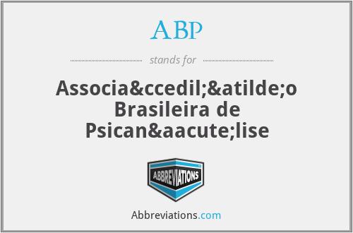 ABP - Associação Brasileira de Psicanálise
