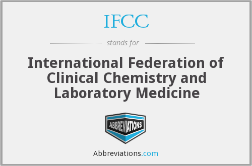 What does IFCC stand for?