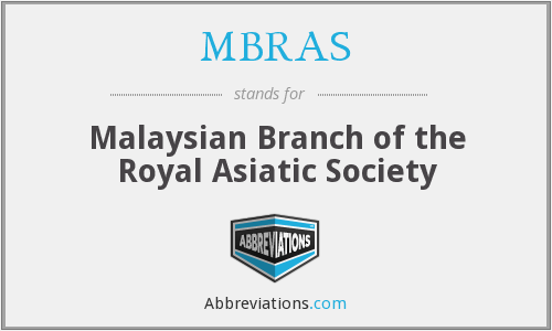 What does MBRAS stand for?