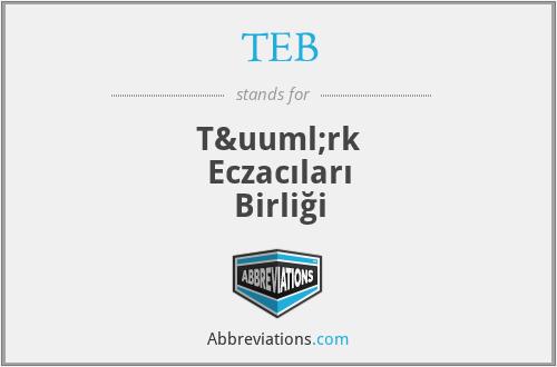 TEB - Türk Eczacıları Birliği