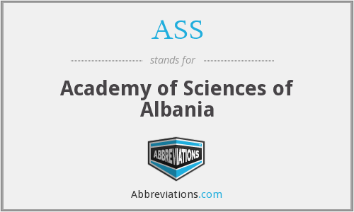 ASS - Academy of Sciences of Albania