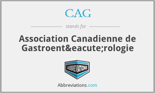 CAG - Association Canadienne de Gastroentérologie