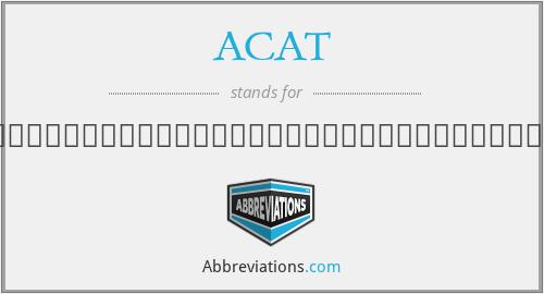 ACAT - สมาคมวิศวกรรมปรับอากาศแห่งประเทศไทย
