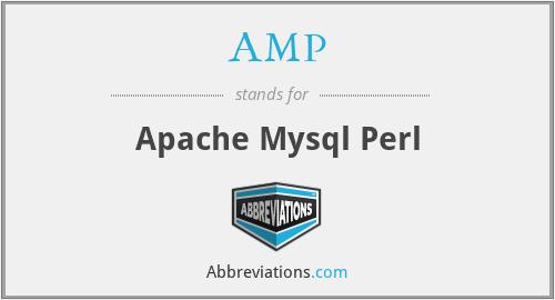 AMP - Apache Mysql Perl