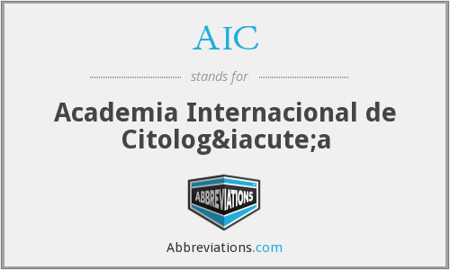 AIC - Academia Internacional de Citología