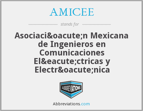 What does AMICEE stand for?